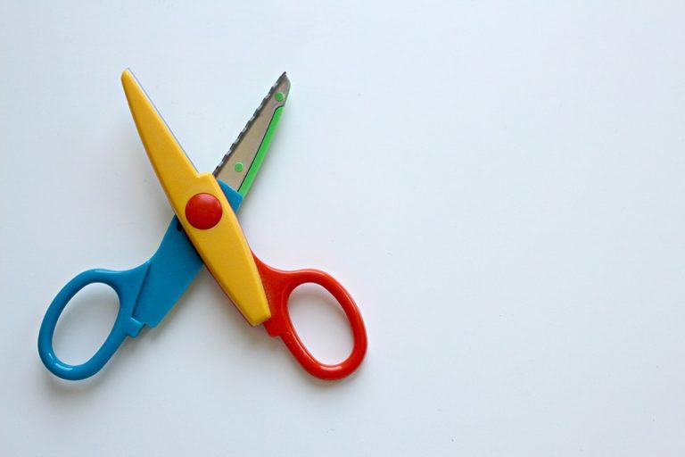 nożyczki dla dziecka